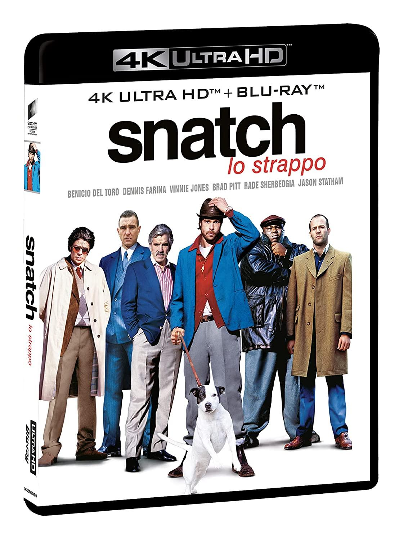 SNATCH - LO STRAPPO (BLU-RAY 4K UHD+BLU-RAY)