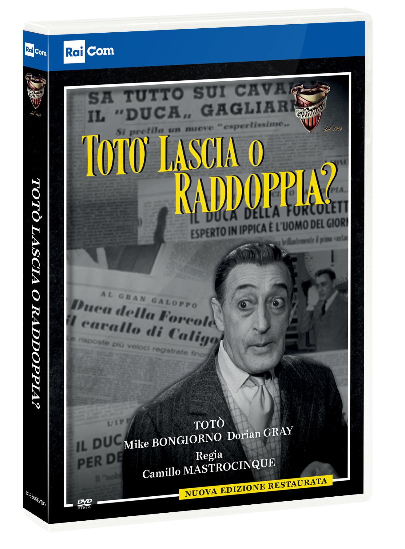 TOTO' LASCIA O RADDOPPIA ? (DVD)