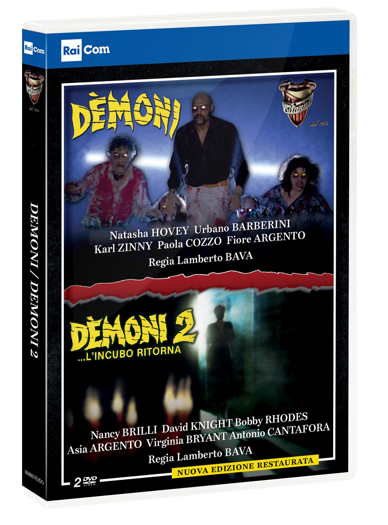 COF.DEMONI / DEMONI 2 (2 DVD) (DVD)