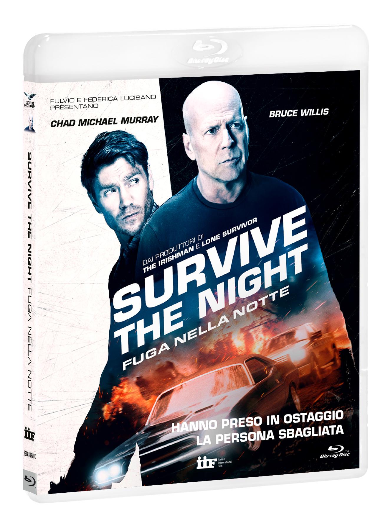 SURVIVE THE NIGHT - FUGA NELLA NOTTE - BLU RAY
