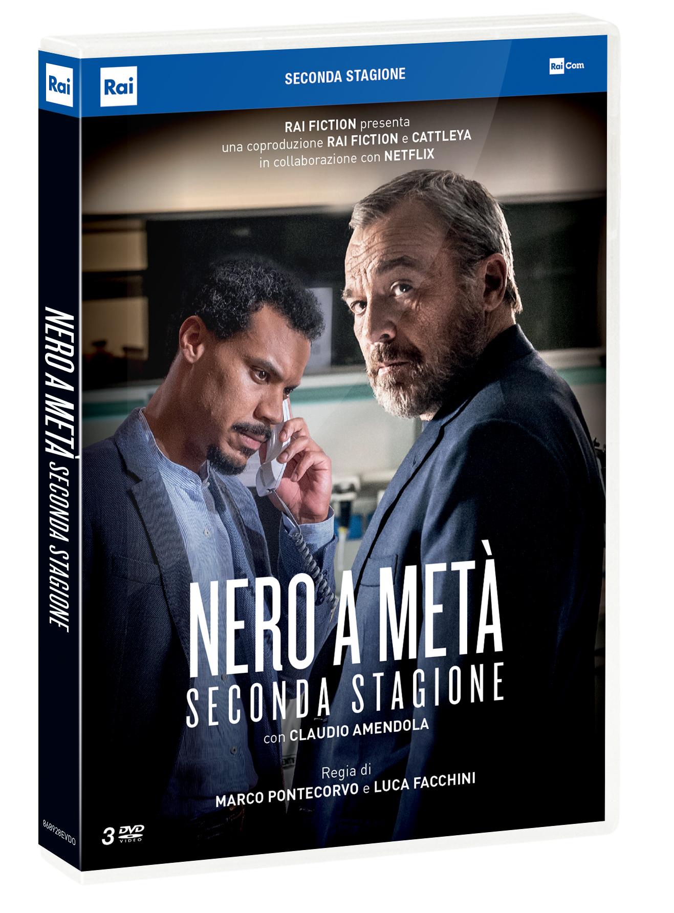 COF.NERO A META' - STAGIONE 02 (3 DVD) (DVD)