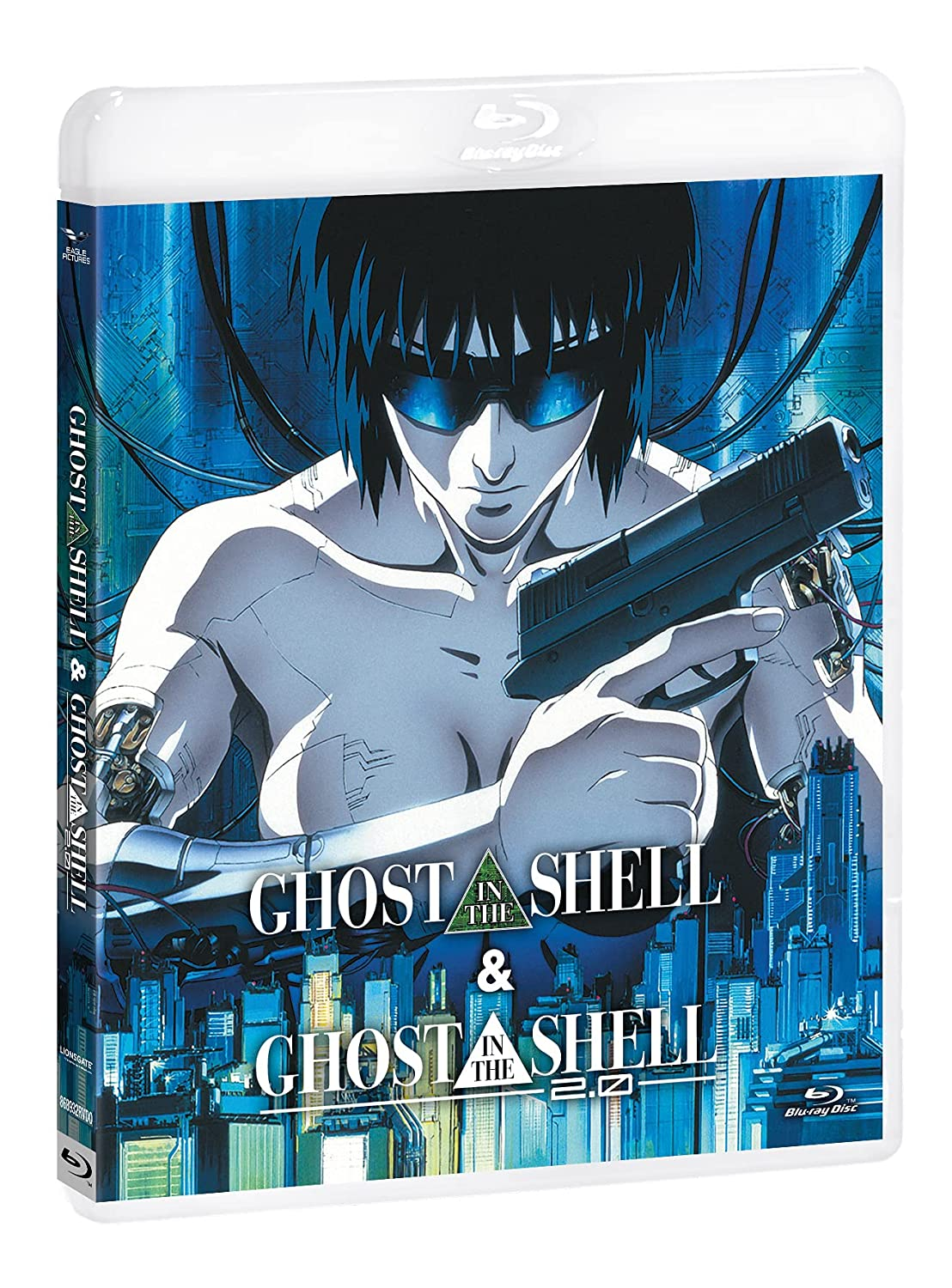 GHOST IN THE SHELL / GHOST IN THE SHELL 2.0 - BLU RAY