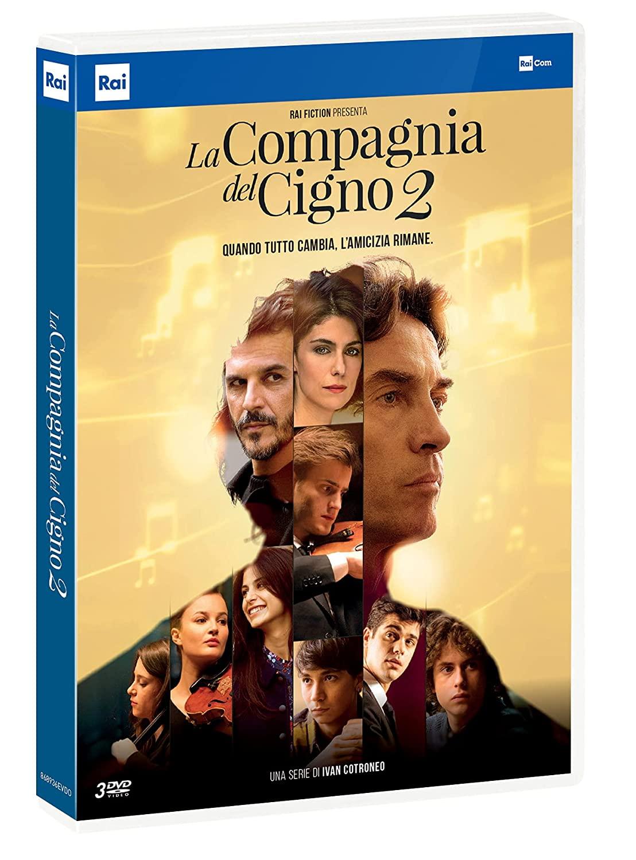 COF.LA COMPAGNIA DEL CIGNO - STAGIONE 02 (3 DVD) (DVD)