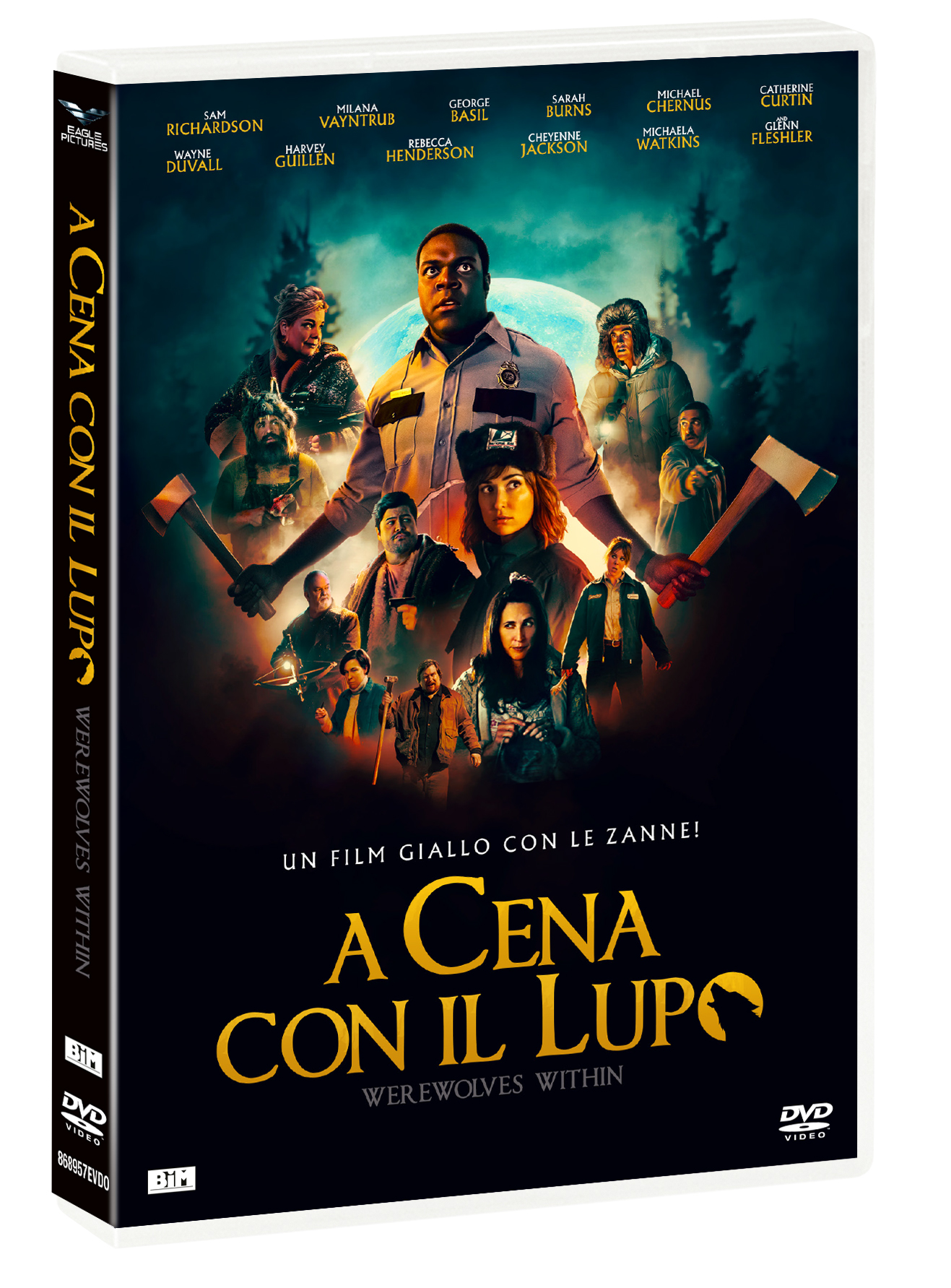 A CENA CON IL LUPO - WEREWOLVES WITHIN (DVD)
