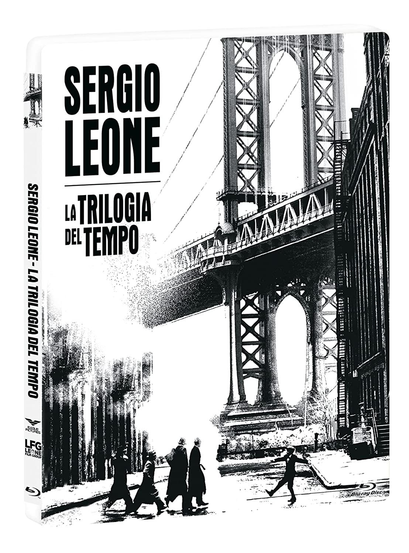 COF. SERGIO LEONE - LA TRILOGIA DEL TEMPO STEELBOOK + LIBRO (3 B