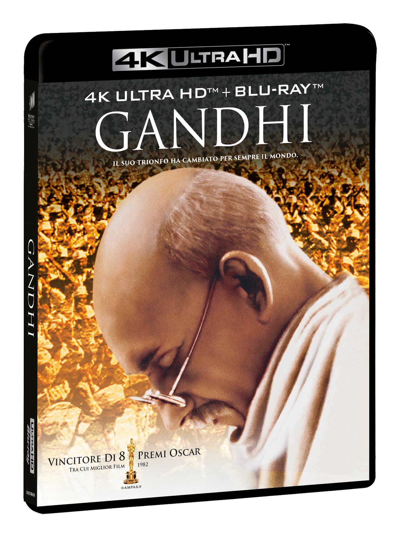 GANDHI (BLU-RAY 4K+BLU-RAY)