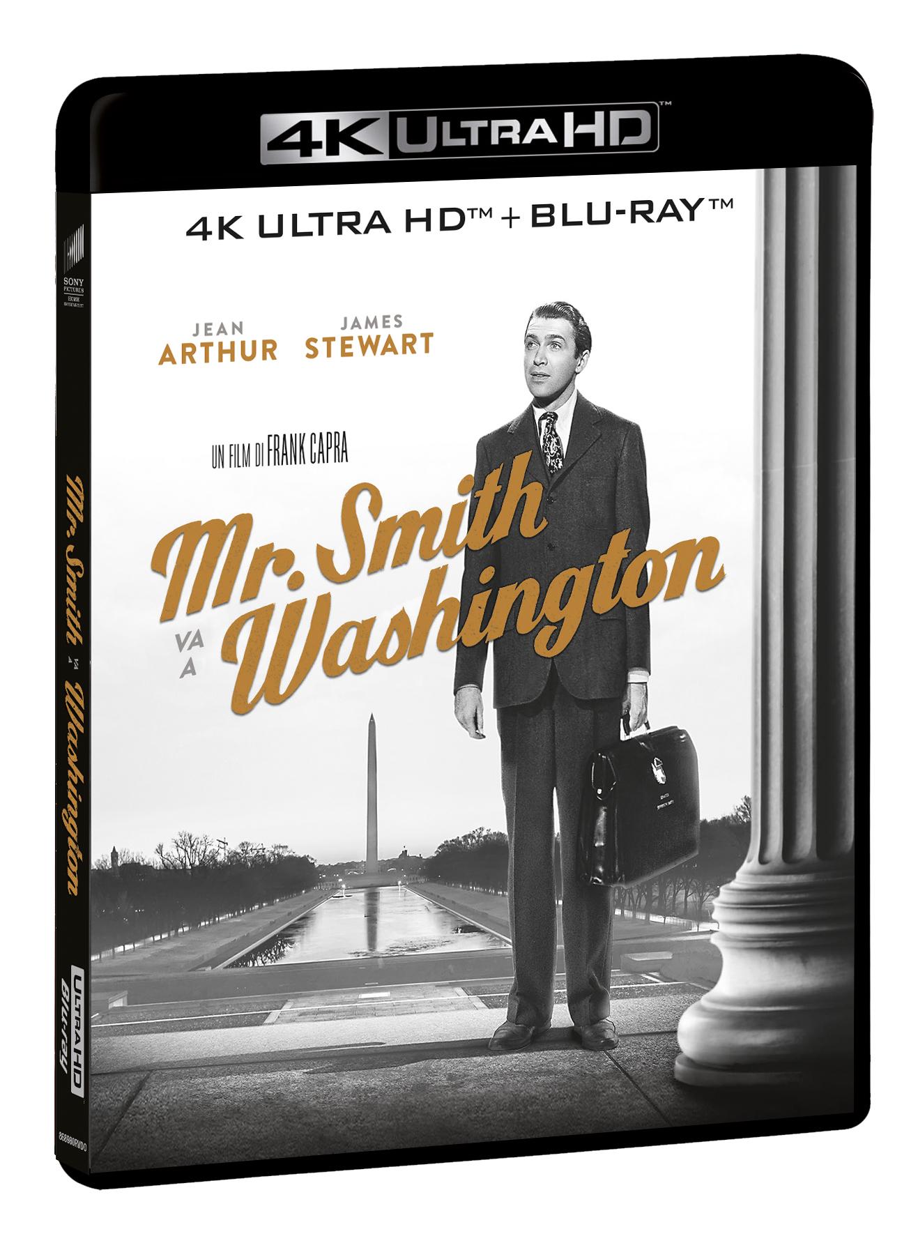 MR. SMITH VA A WASHINGTON (BLU-RAY 4K+BLU-RAY HD)