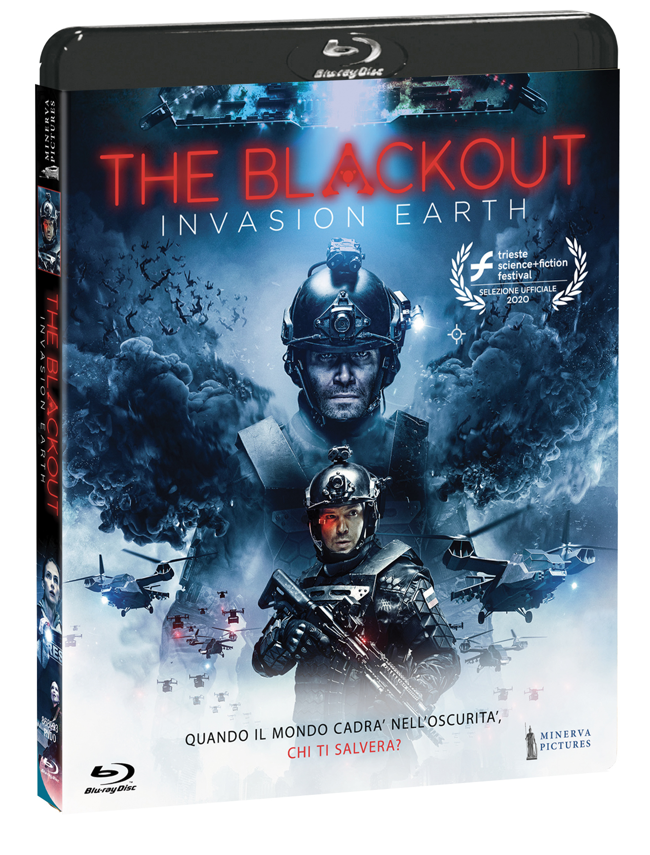 THE BLACKOUT - INVASION HEART - BLU RAY