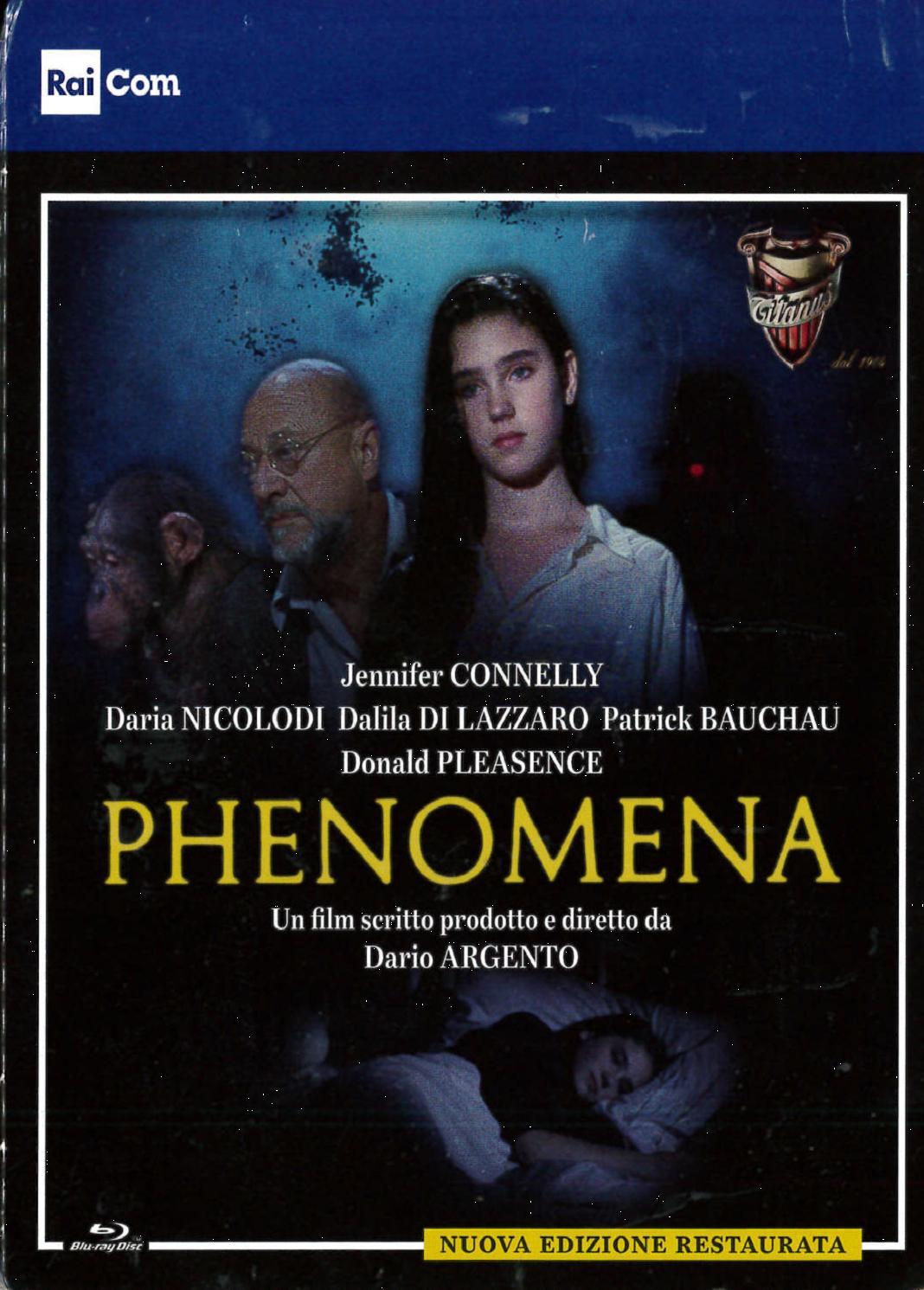PHENOMENA - BLU RAY