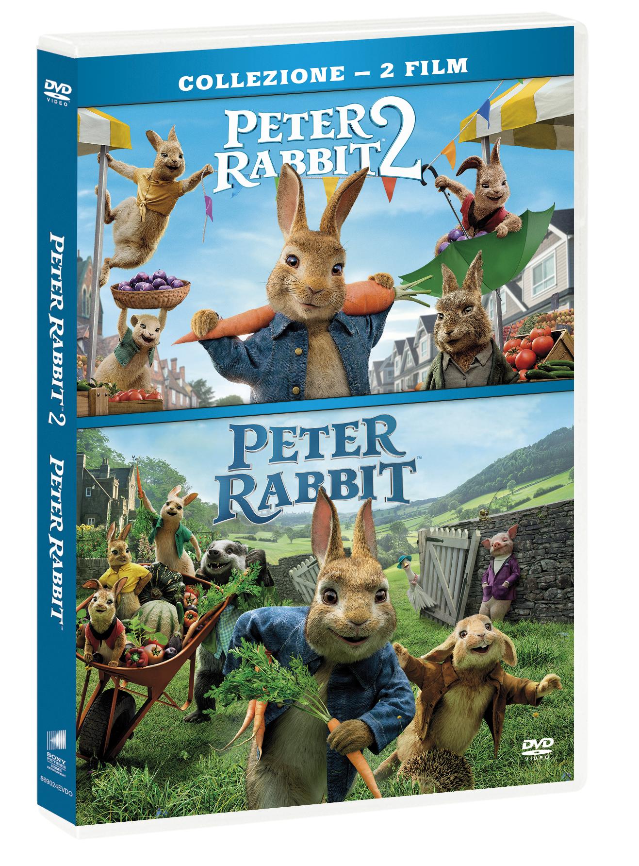 COF.PETER RABBIT / PETER RABBIT 2 - UN BIRBANTE IN FUGA (2 DVD)