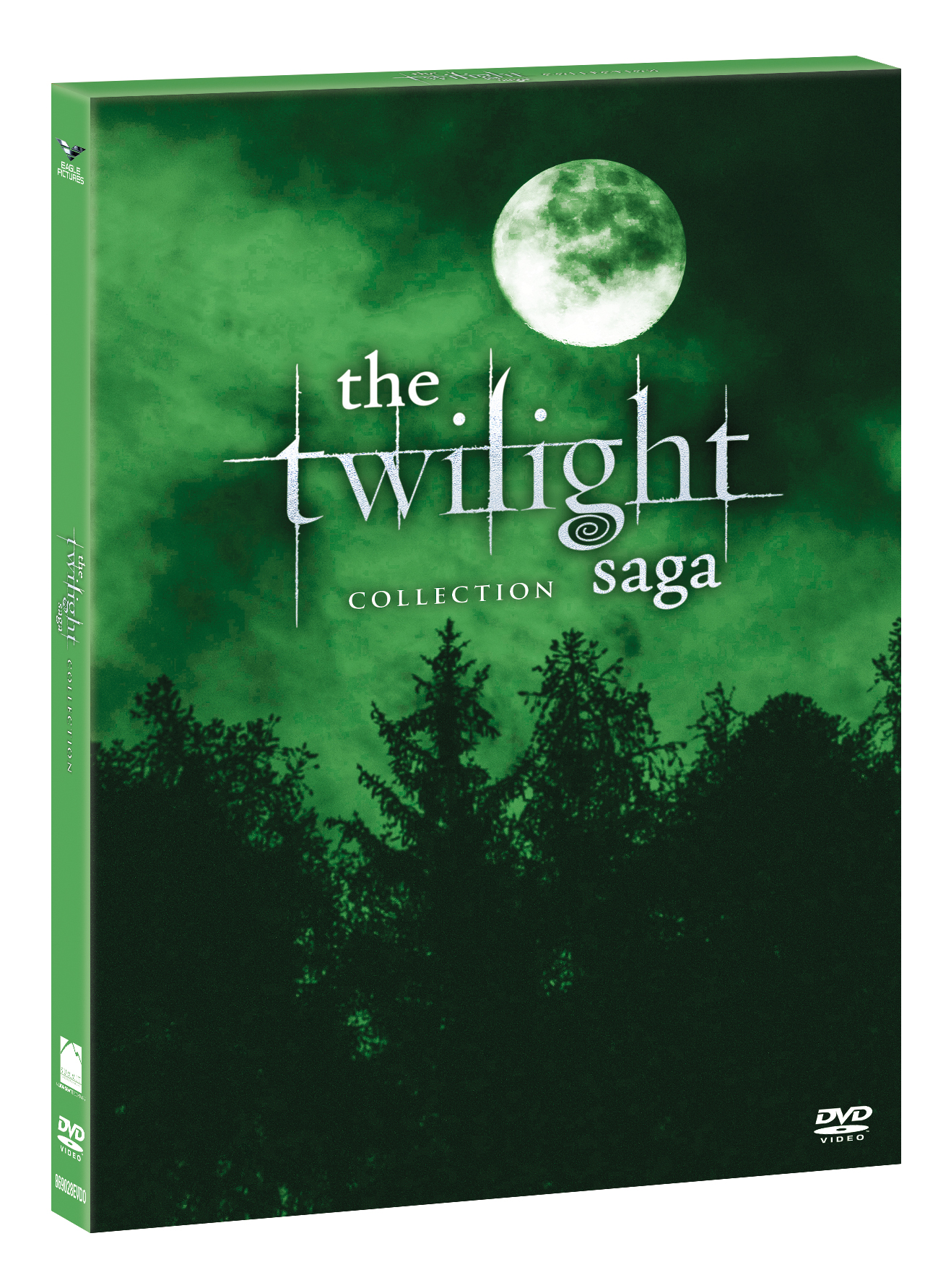 COF.TWILIGHT SAGA COLLECTION GREEN BOX (5 DVD) (DVD)