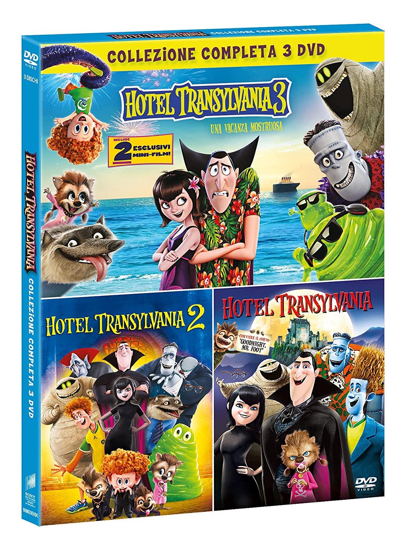 COF.HOTEL TRANSYLVANIA COLLECTION GREEN BOX (3 DVD) (DVD)