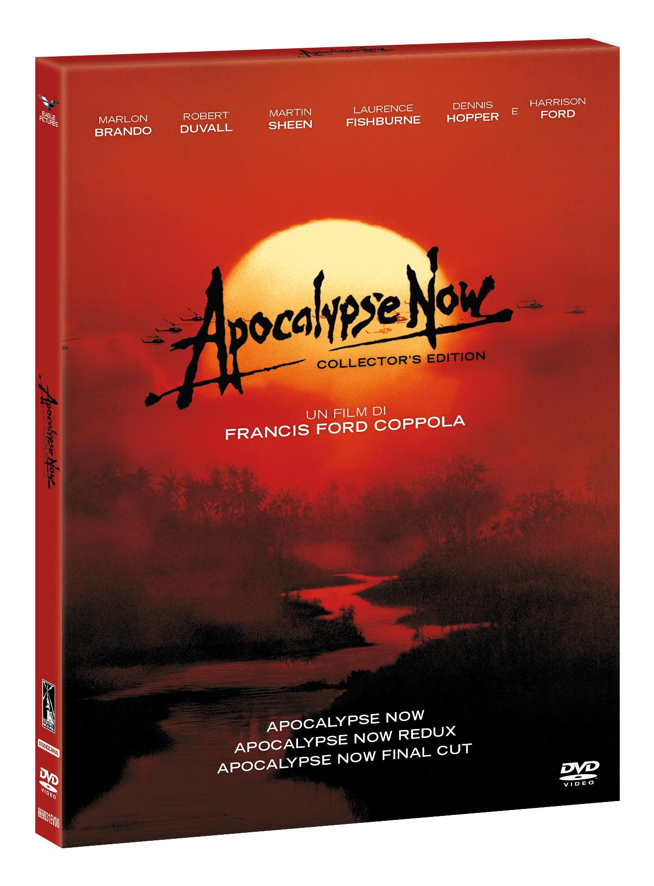 COF.APOCALYPSE NOW COLLECTION GREEN BOX (4 DVD) (DVD)