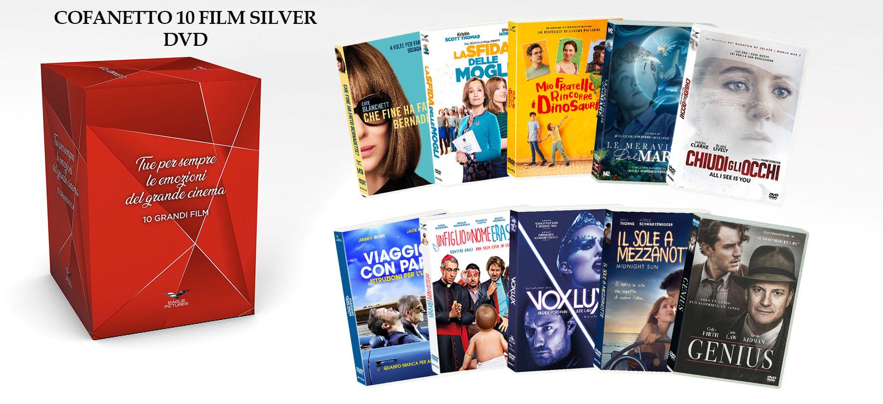 COF.FORTI EMOZIONI SILVER COFANETTO (10 DVD) (DVD)