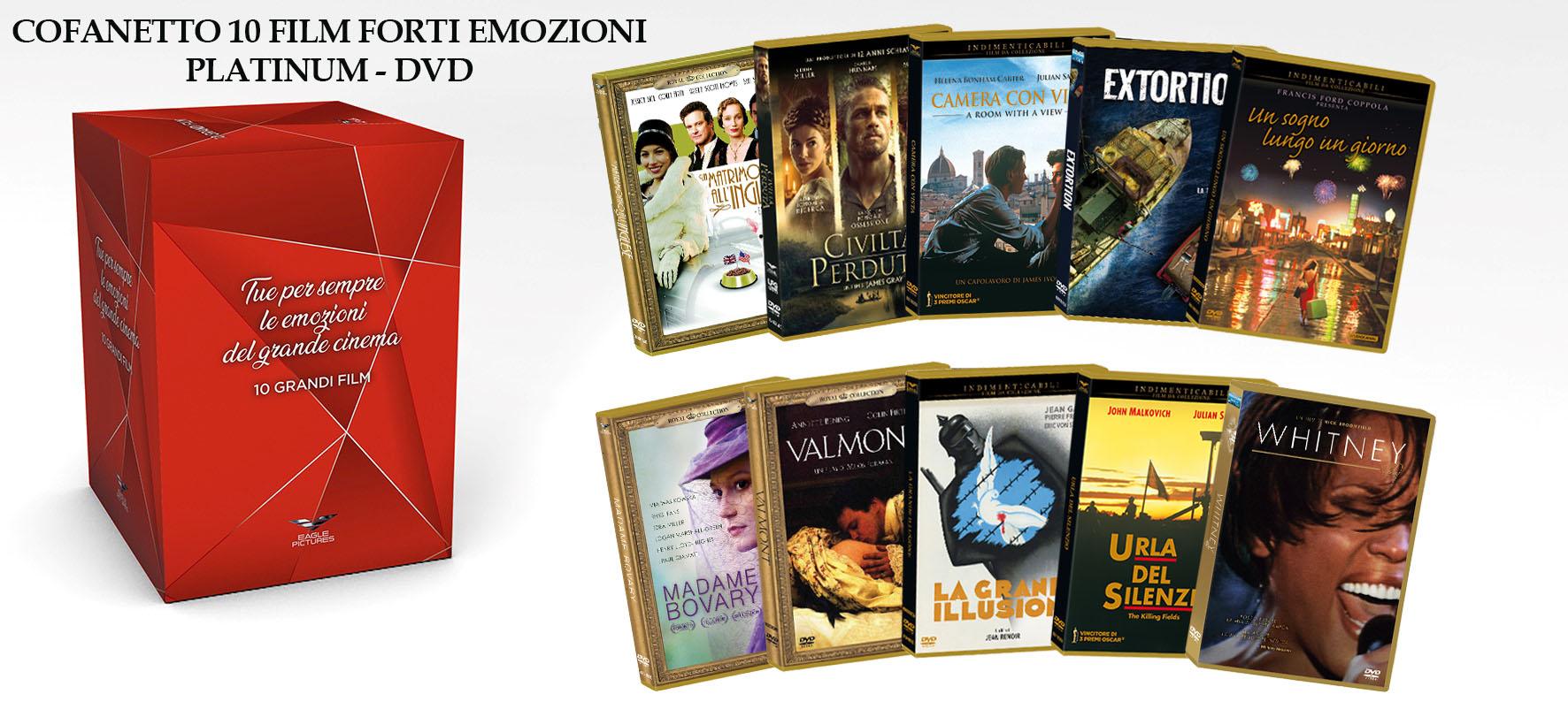 COF.FORTI EMOZIONI PLATINUM COFANETTO (10 DVD) (DVD)