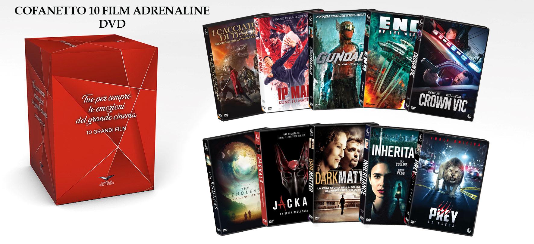 COF.ADRENALINE COFANETTO (10 DVD) (DVD)