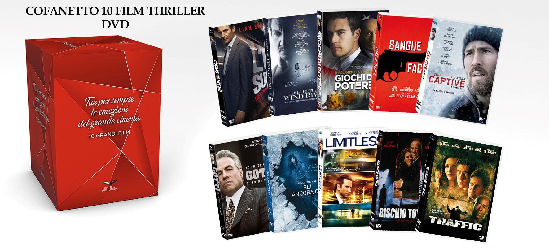 COF.THRILLER COFANETTO (10 DVD) (DVD)