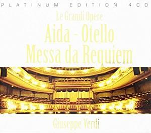 AIDA - LE GRANDI OPERE (AIDA,OTELLO,MESSA DA REQUIEM) -4CD (CD)