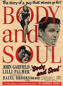 ANIMA E CORPO - BODY AND SOUL (AUDIO INGLESE) (DVD)