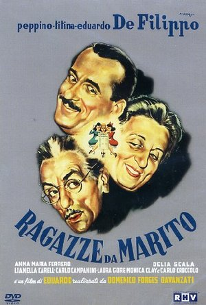 DE FILIPPO - RAGAZZE DA MARITO (DVD)