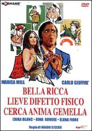 BELLA RICCA LIEVE DIFETTO FISICO CERCA ANIMA GEMELLA (DVD)