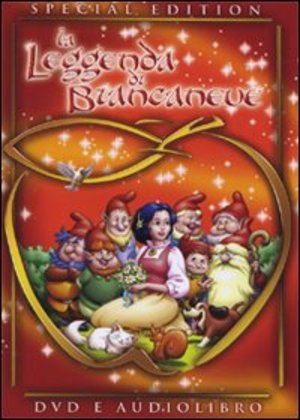 LA LEGGENDA DI BIANCANEVE (SE) (DVD+CD+LIBRO) ESENTE IVA (DVD)