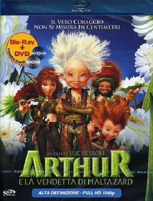ARTHUR E LA VENDETTA DI MALTAZARD (BLU-RAY+DVD) (BLU-RAY )