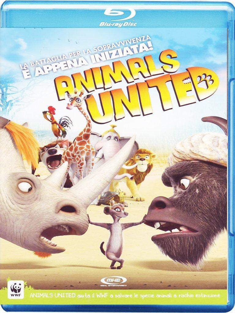 ANIMALS UNITED (BLU-RAY)