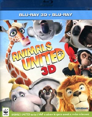 ANIMALS UNITED (3D) (BLU-RAY 3D+BLU-RAY)