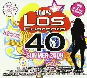 LOS QUARENTA SUMMER 2009 -3CD (CD)