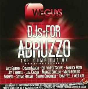 DJS FOR ABRUZZO (CD)