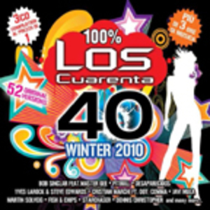LOS CUARENTA WINTER 2010 -3CD (CD)