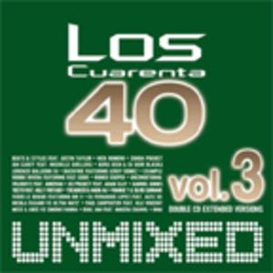 LOS CUARENTA 40 VOL.3 -UNMIXED -2CD (CD)
