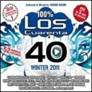 LOS CUARENTA WINTER 2011 BY SERGIO MAURI -3CD (CD)