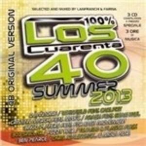 LOS CUARENTA SUMMER 2013 -3CD (CD)