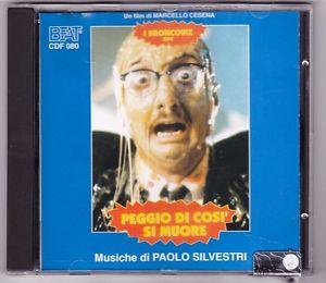 PAOLO SILVESTRI - PEGGIO DI COSI' SI MUORE (CD)
