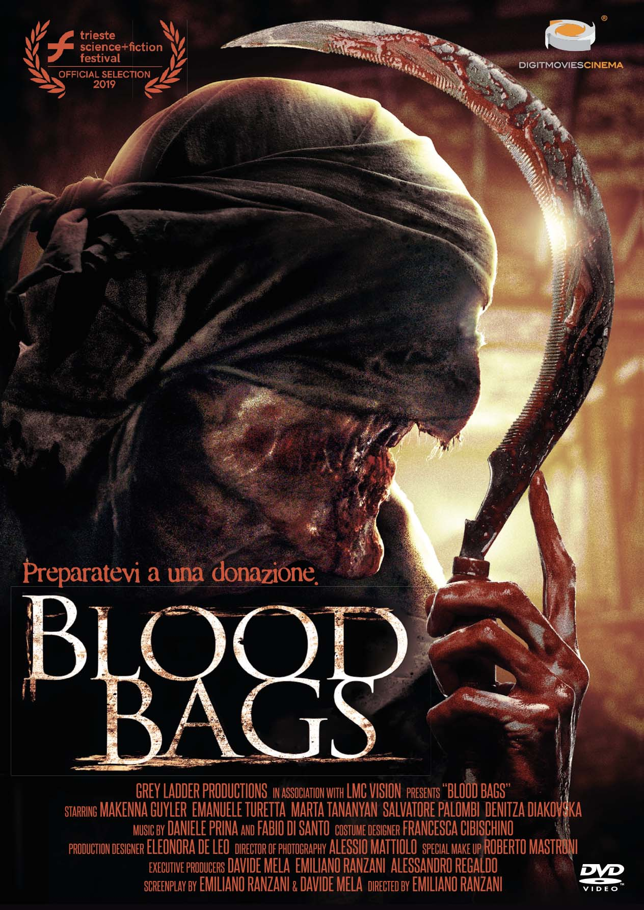 BLOOD BAGS (DVD)