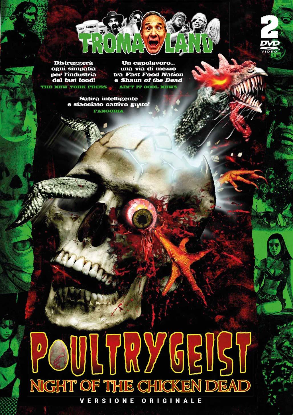 POULTRYGEIST - NIGHT OF THE CHICKEN DEAD (2 DVD) - AUDIO INLGESE