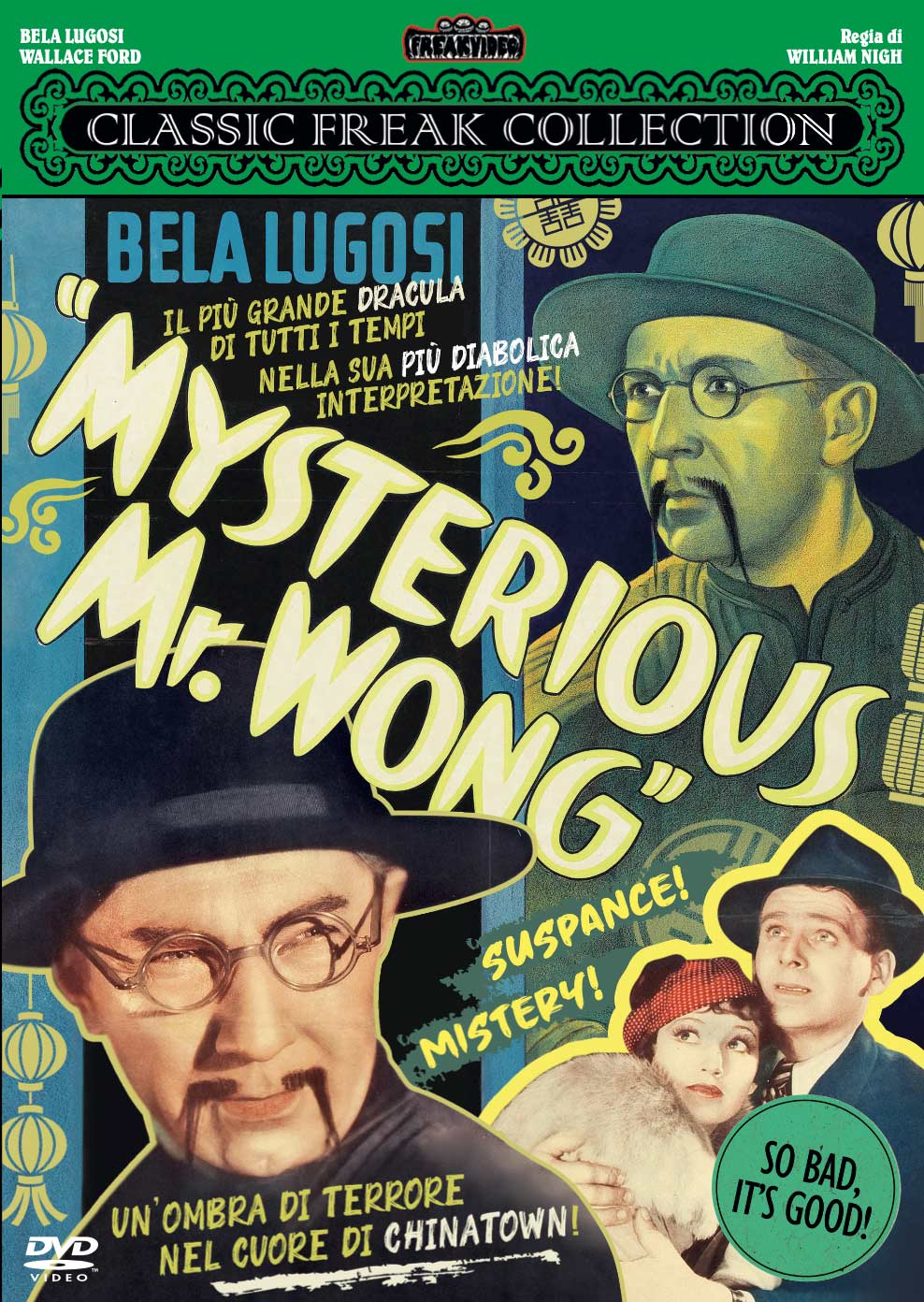 MYSTERIOUS MR. WONG - AUDIO INGLESE (DVD)