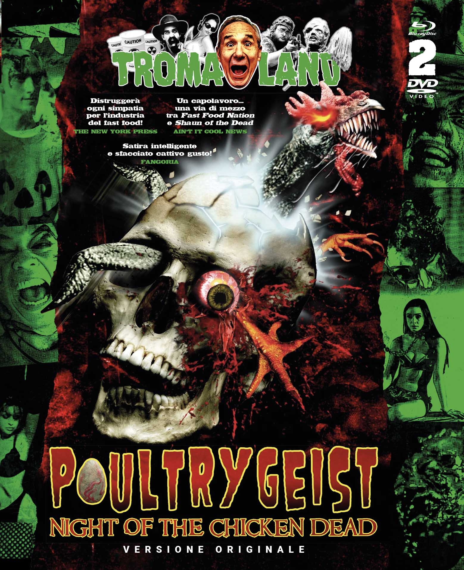 POULTRYGEIST - NIGHT OF THE CHICKEN DEAD (BLU-RAY+DVD) - AUDIO I - Clicca l'immagine per chiudere