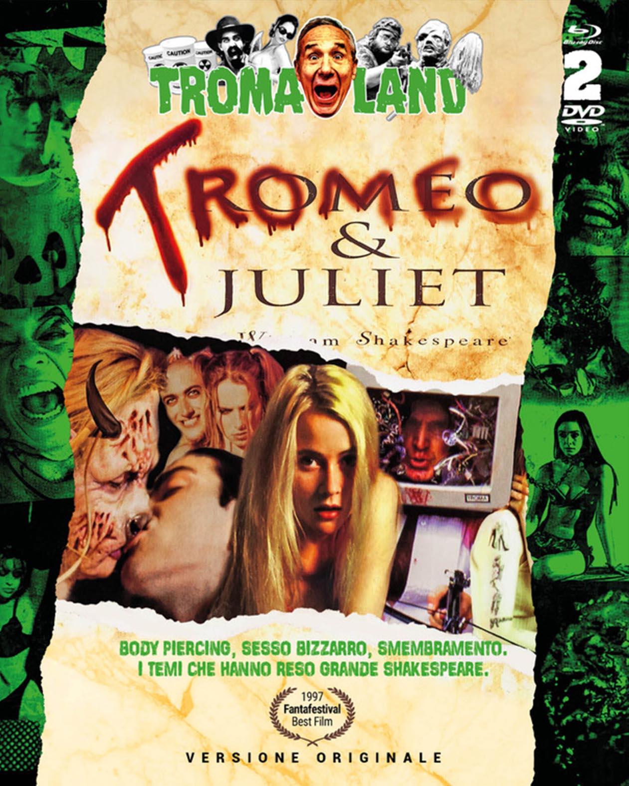 COF.TROMEO & JULIET (BLU-RAY+DVD)
