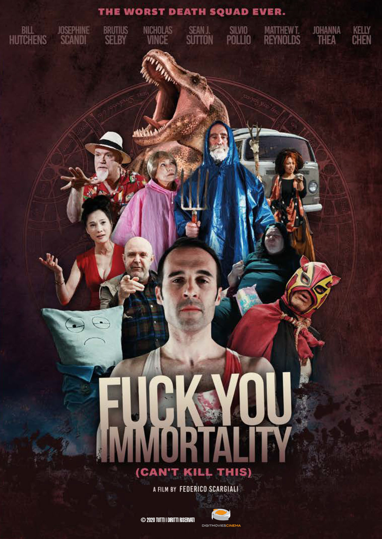 FUCK YOU IMMORTALITY (CAN'T KILL THIS) (DVD)