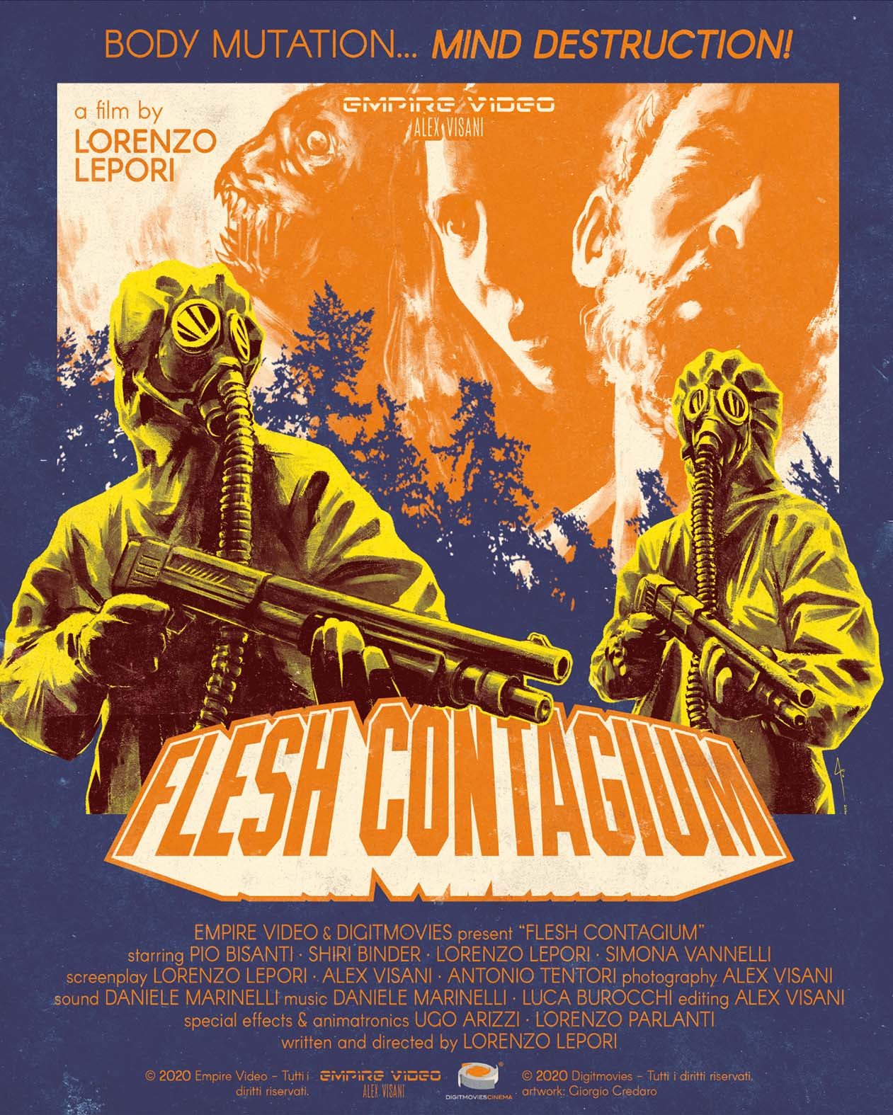 FLESH CONTAGIUM - BLU RAY