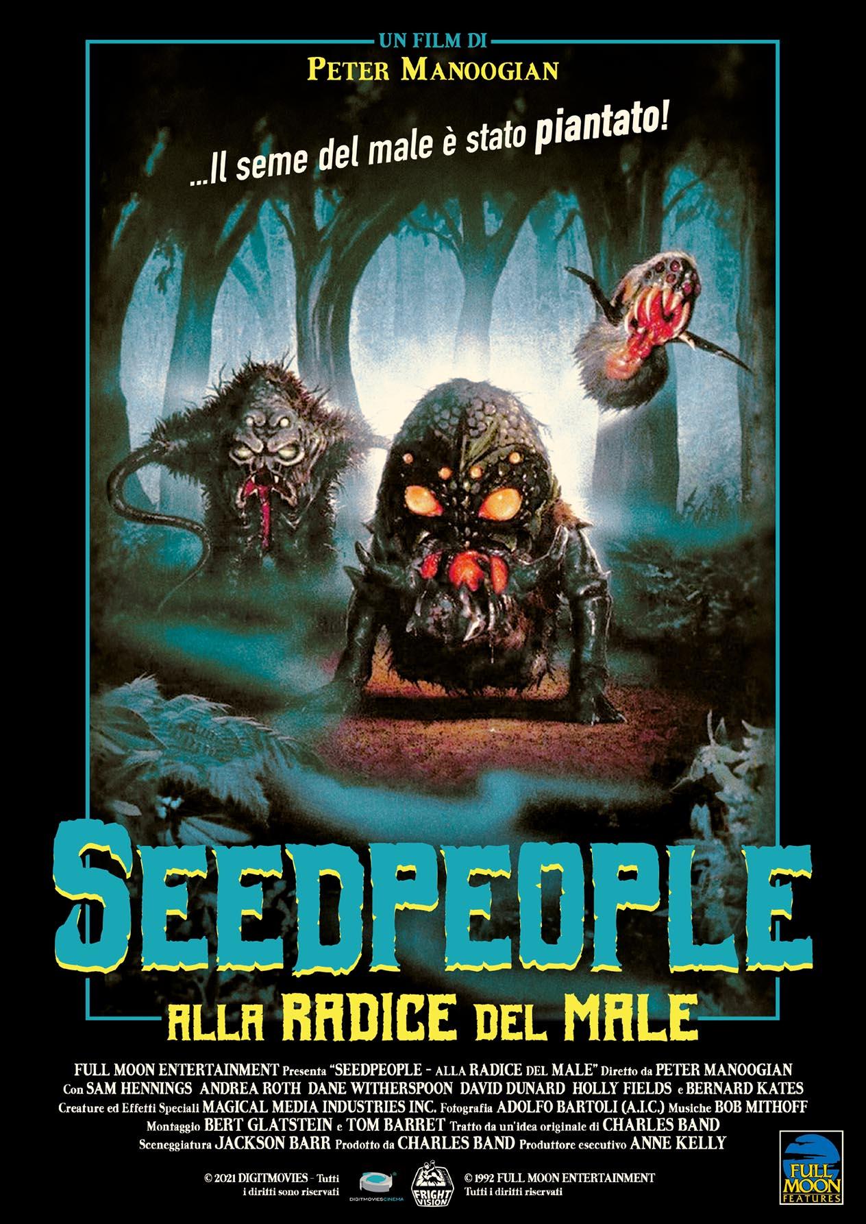 SEEDPEOPLE - ALLA RADICE DEL MALE (DVD)