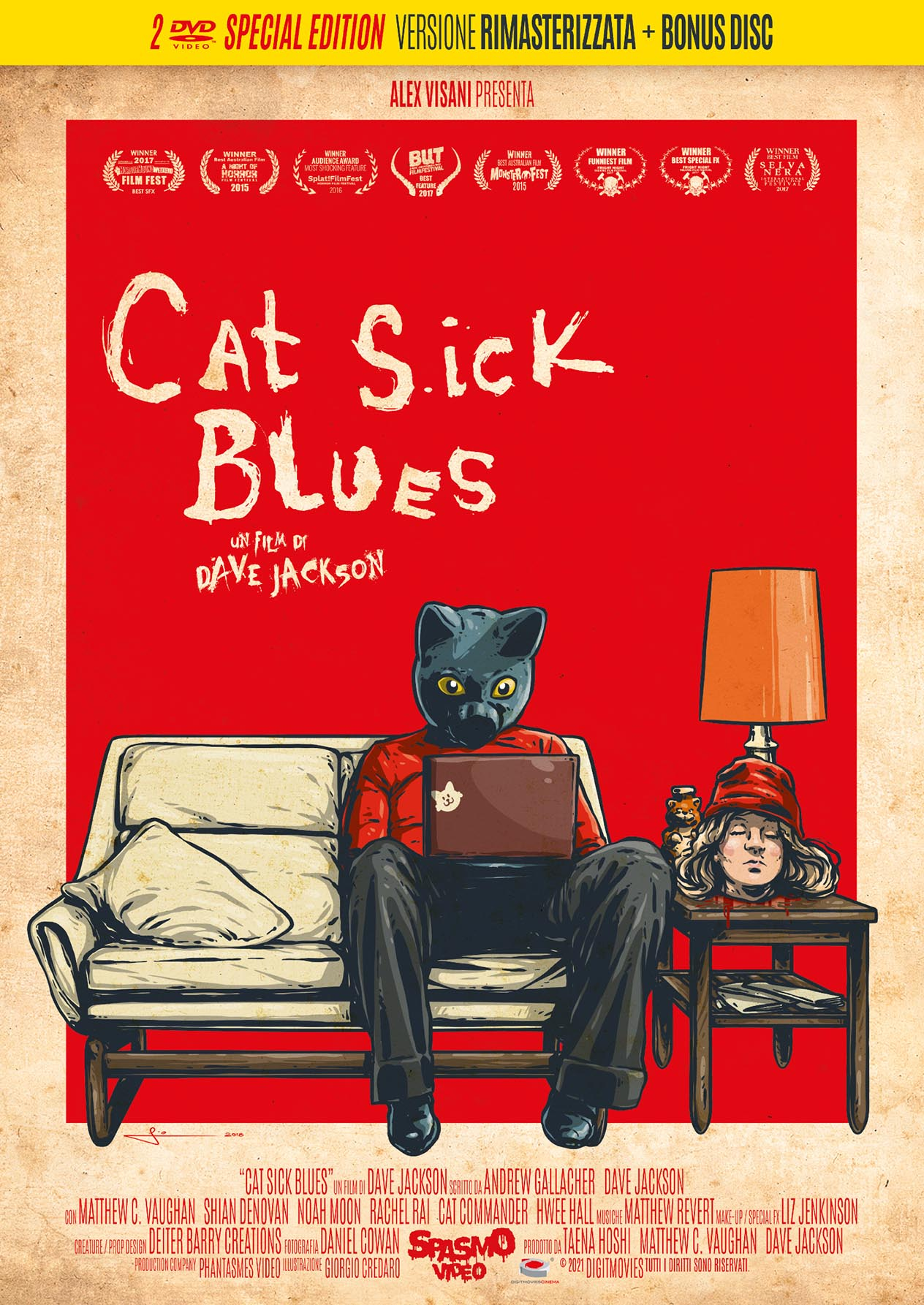 CAT SICK BLUES (SPECIAL EDITION) (2 DVD) (DVD)