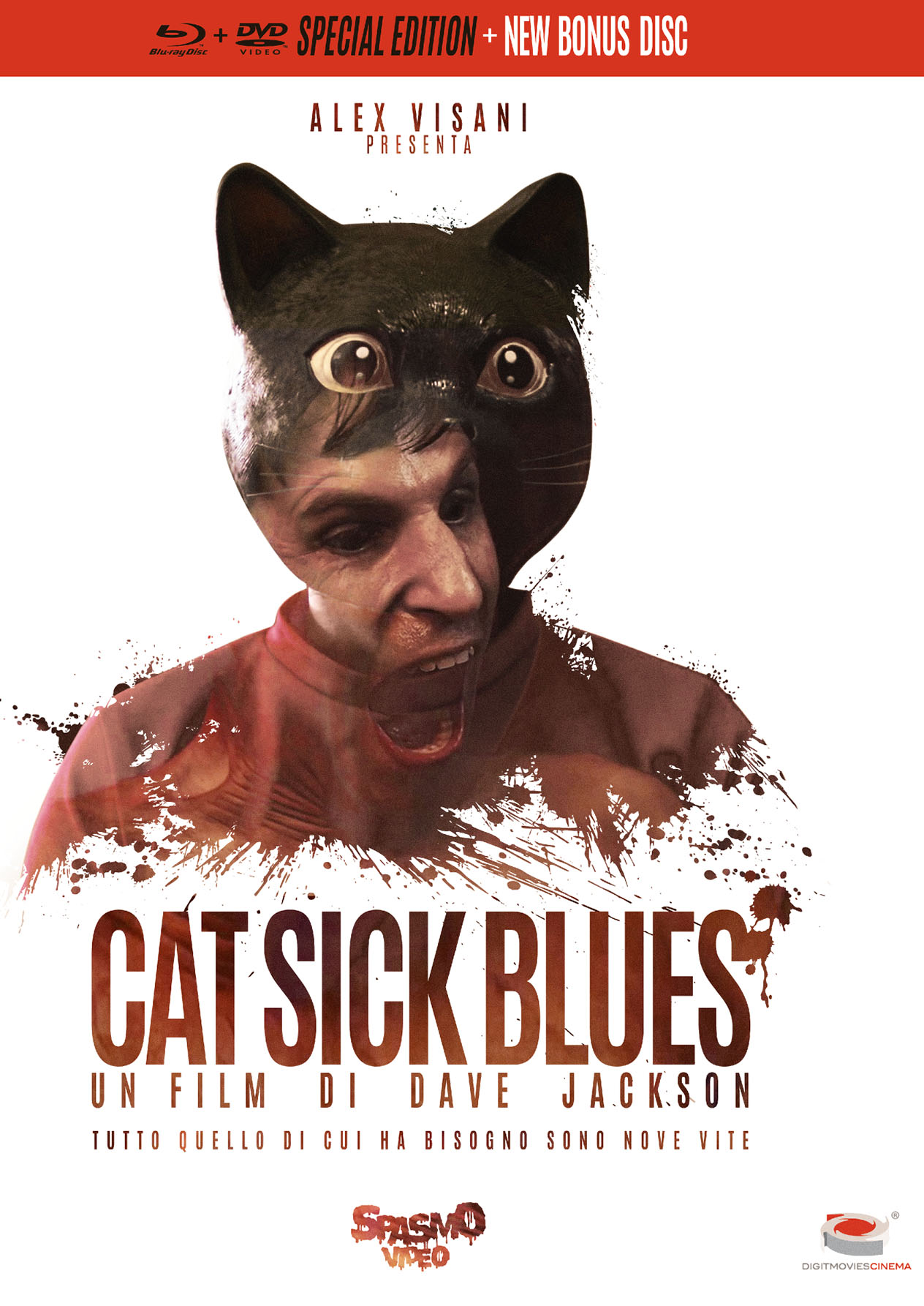 CAT SICK BLUES (SPECIAL EDITION) (BLU-RAY+DVD)