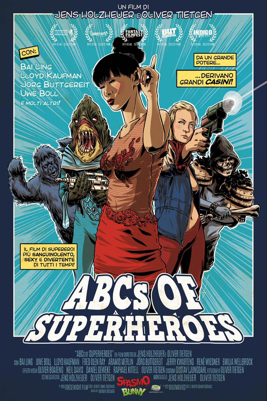 ABCS OF SUPERHEROES - AUDIO INGLESE (DVD)