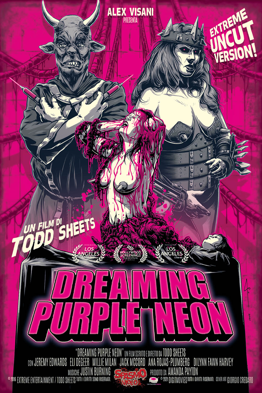 DREAMING PURPLE NEON - AUDIO INGLESE (DVD)
