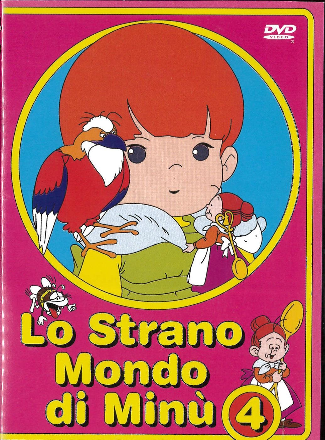 LO STRANO MONDO DI MINU' - VOL 4 (DVD)