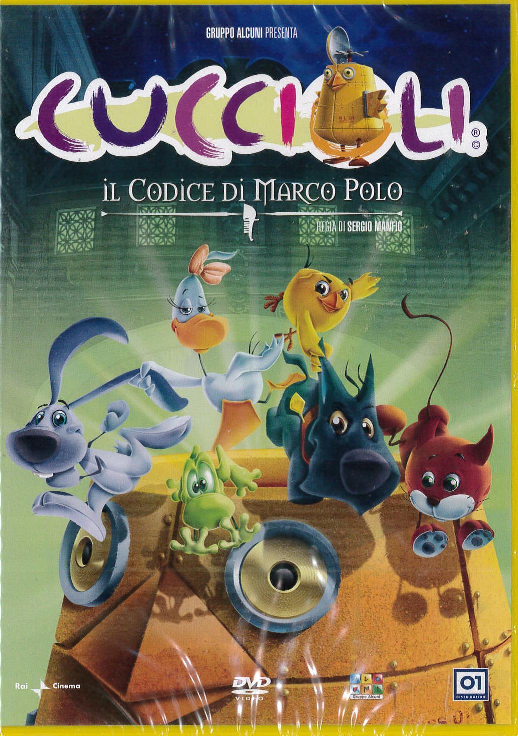 CUCCIOLI - IL CODICE DI MARCO POLO (DVD)